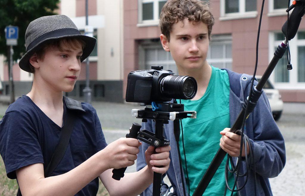Im Kameraworkshop wirst Du zum Kameramann